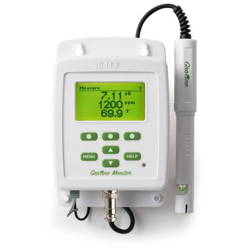 GroLine pH/EC/TDS Monitor