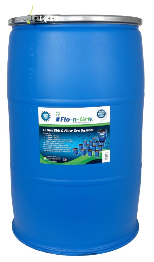 Flo-n-Gro Ebb & Flow System – 12 Site