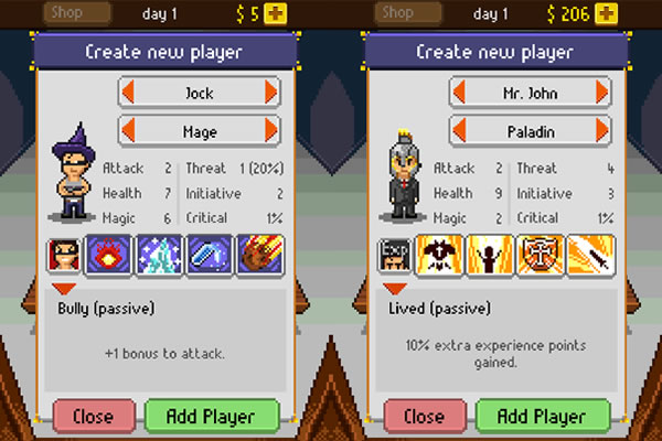Knights-of-Pen-and-Paper-Character-Selection-Screen