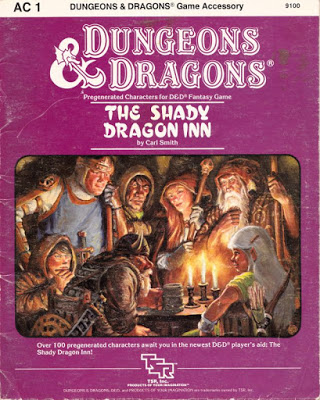 Mystara Monday: AC1 - The Shady Dragon Inn