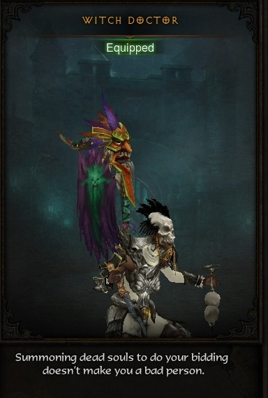 Witch Doctor Set Mastery