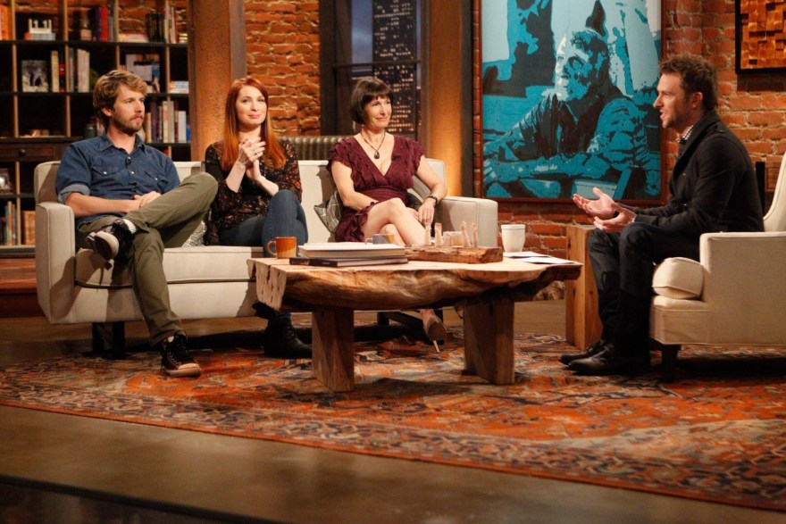 The Talking Dead set is part of the experience