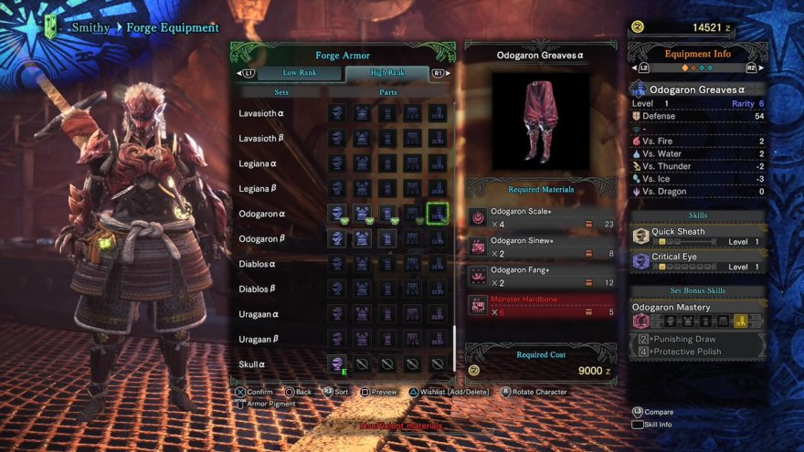 Gear Crafting Mmo