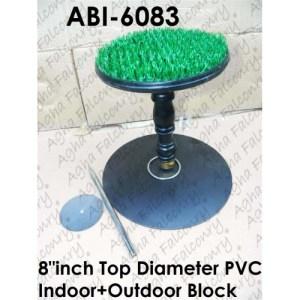 """PVC Detachable Outdoor+Indoor Block with 8""""inch Top (ABI-6083)"""