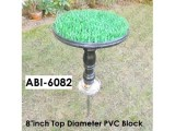"Detachable PVC Block with 8""inch Diameter Top(ABI-6082)"