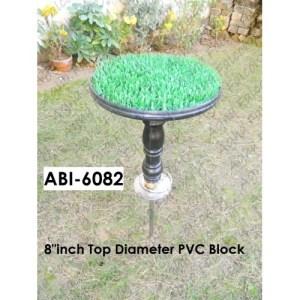 "Detachable PVC Block with 8""inch Diameter Top(ABI-6082)"