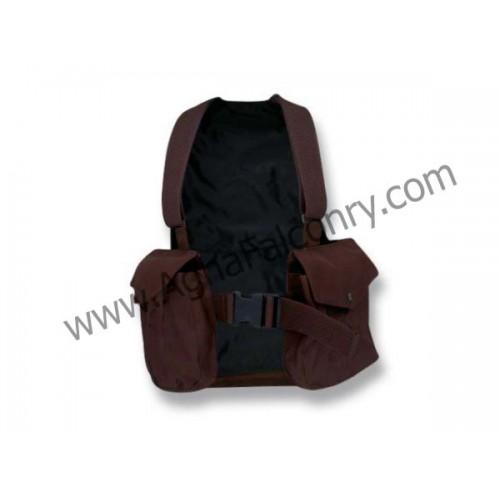 Falconry Brown Cordura Vest (ABI-8600)