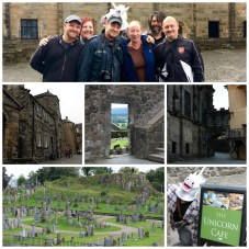 Stirling Castle Collage