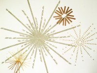 Gold New Years Eve Washi Tape Fireworks