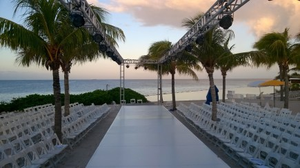 Catwalk in the Caribbean - Dawn