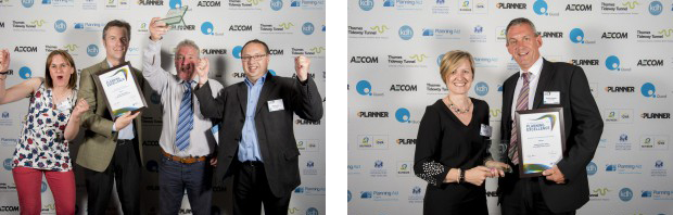 Swift software users win awards at RTPI Awards