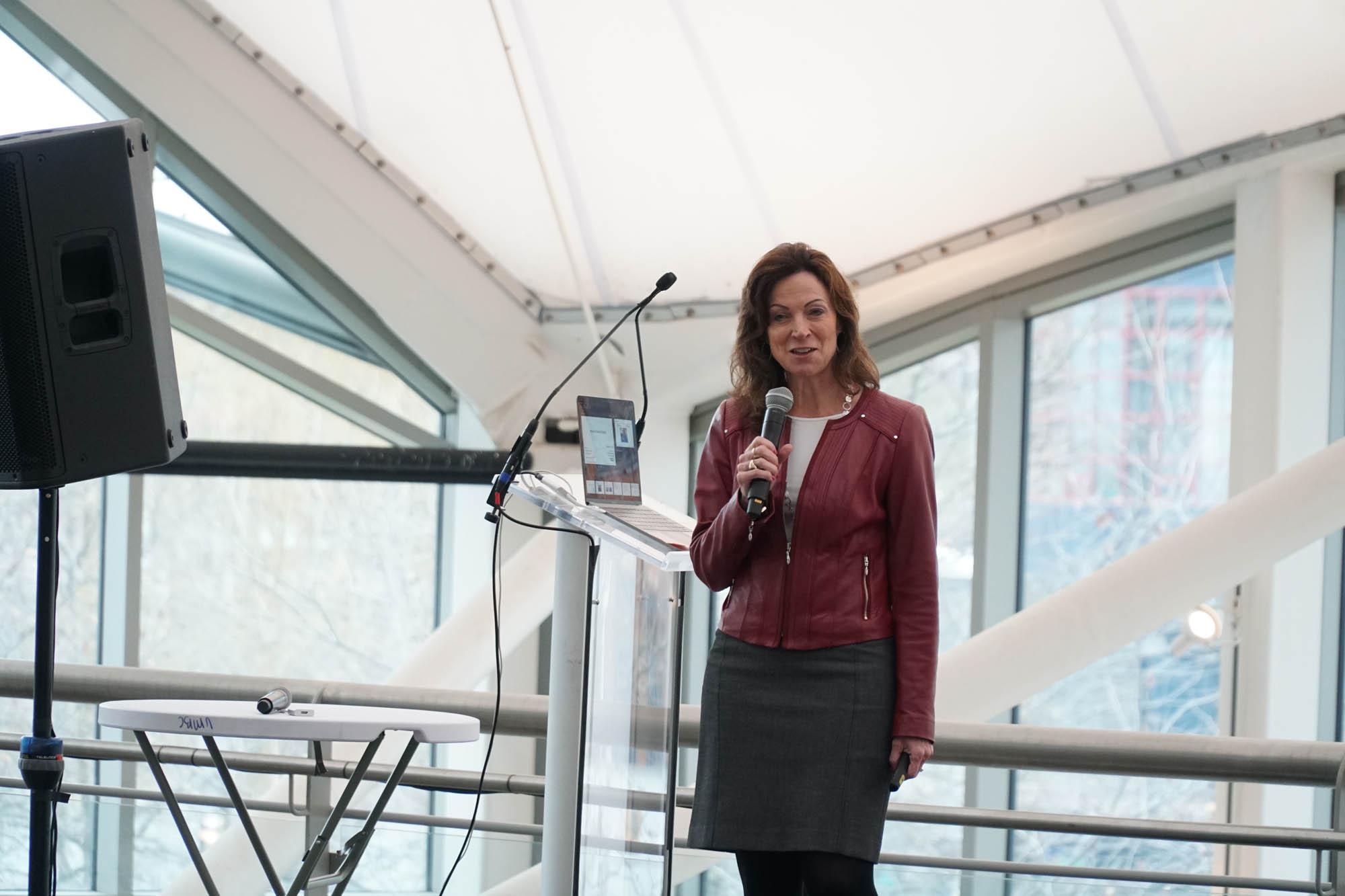 Dr. Suzette Johnson talking DevOps at Agile Charm