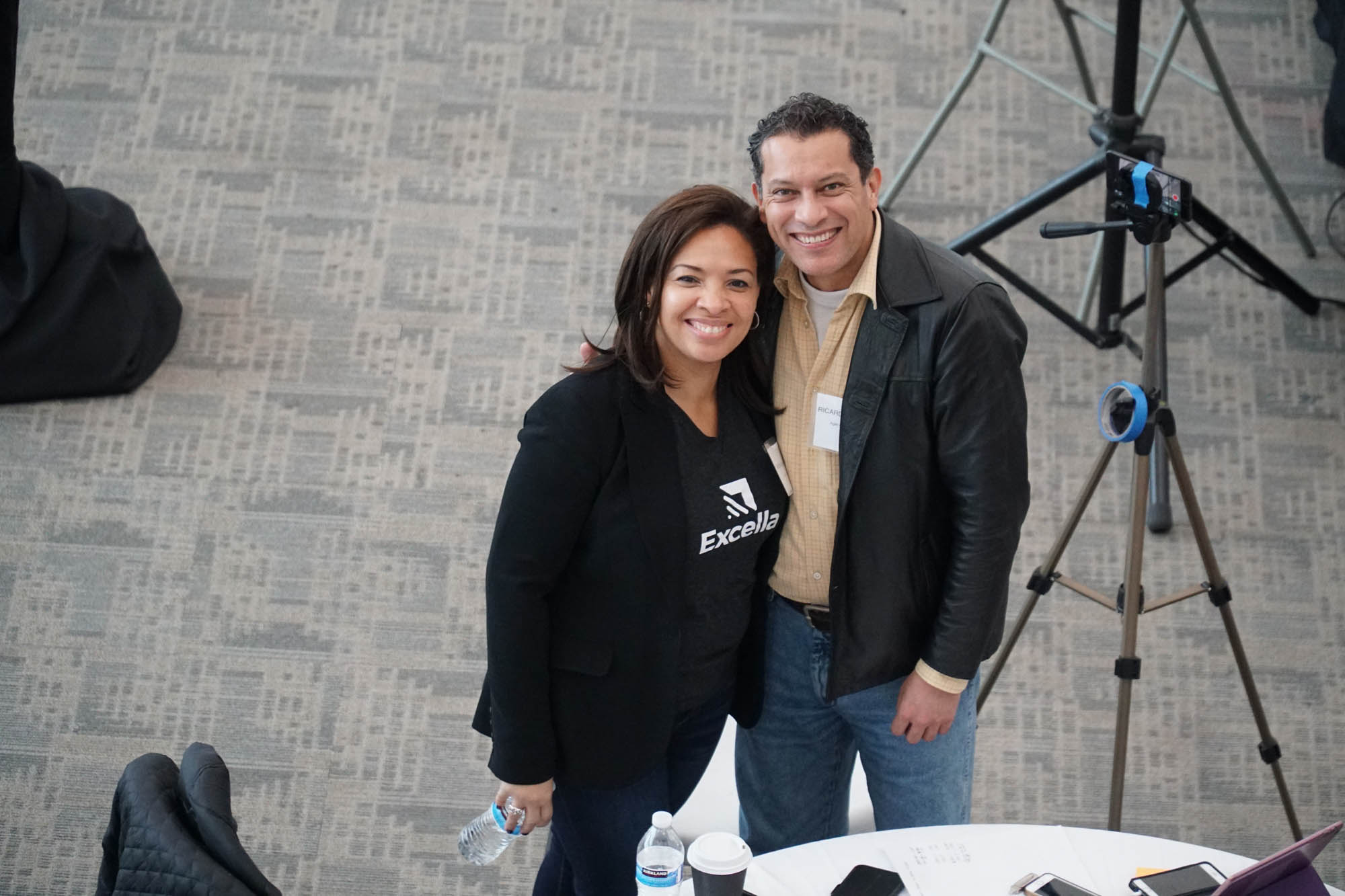 Nicole Spence-Goon & Ricardo Abella @ Agile Charm