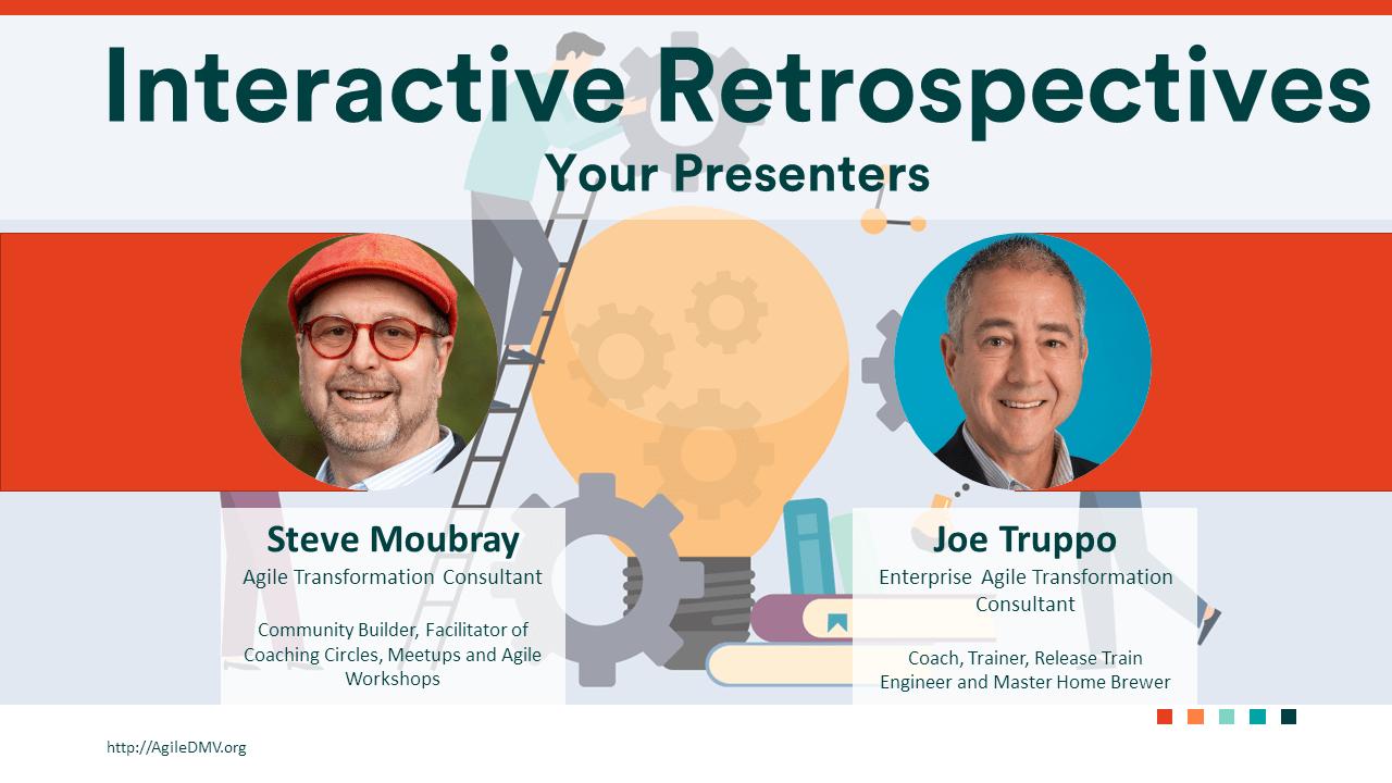 Agile Coaching Meetup, Interactive Retrospectives