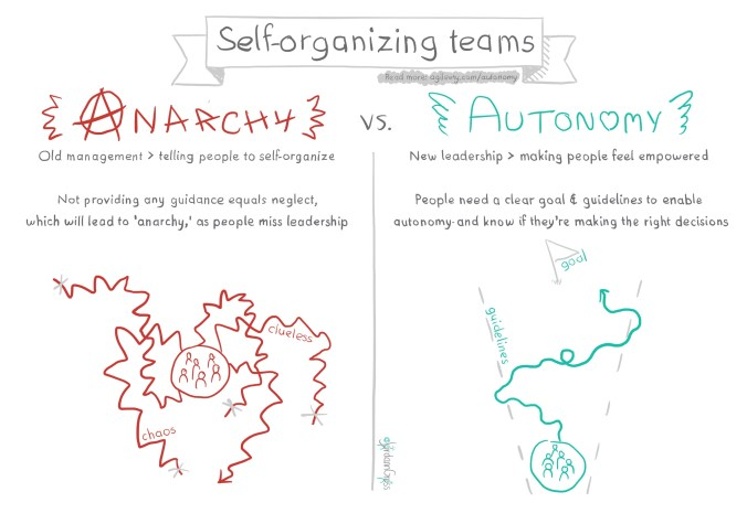 Manage for self-organization