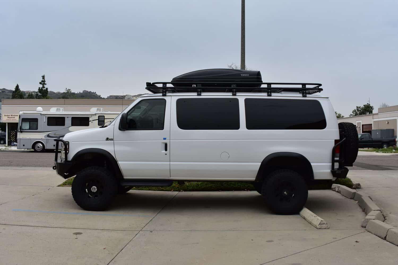 Aluminess Roof Racks for Ford Vans