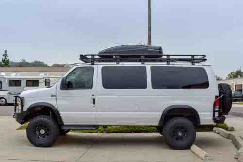 small resolution of the van 2010 ford e 350 xlt regular body oxford white v10 engine passenger interior configuration quigley 4 4 conversion