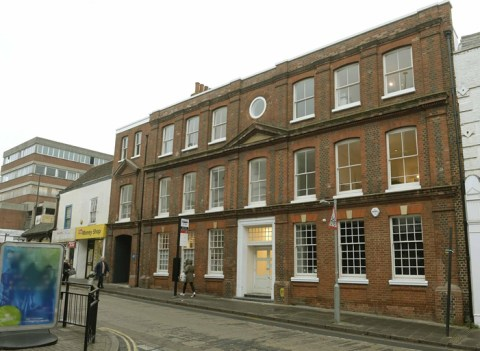 "Image of ""Space"" studios on Queen St. Colchester. Premises of Agile Research"