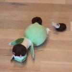 Hr. Grøn har mistet sit ben!