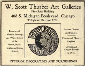 Thurber Gallery Ad