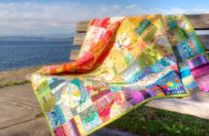 Rainbow Quilt from  the Jolly Jabber