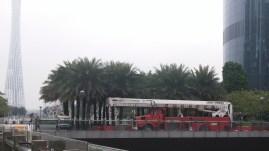 Firetruck for the memorial.
