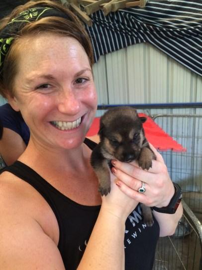 Ash & new pup