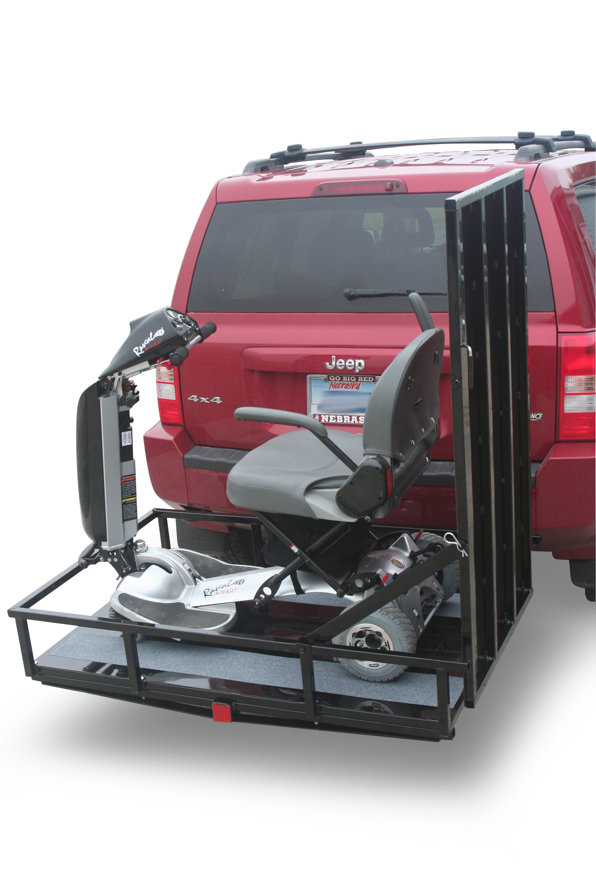 wheelchair hauler bubble chair swing stand ramps aging in my place power hitch carriers