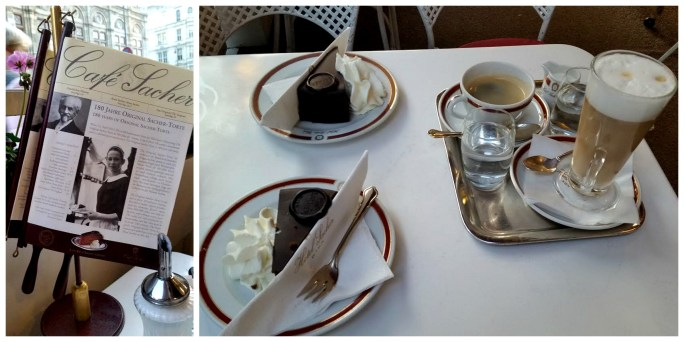 Cafe Sacher Collage