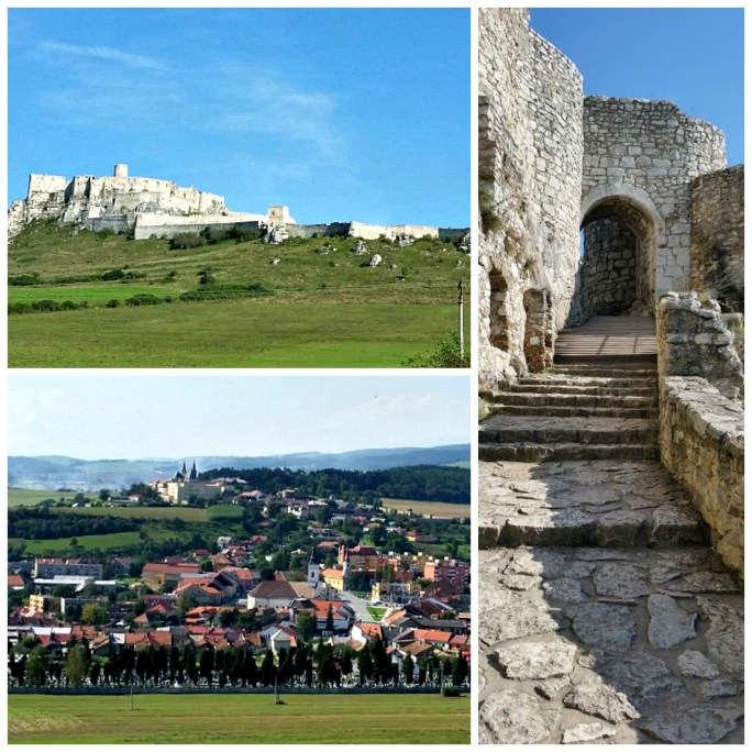 Spis Castle collage 2