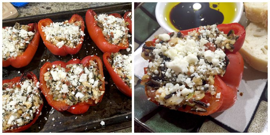 Stuffed Pepper Collage 3