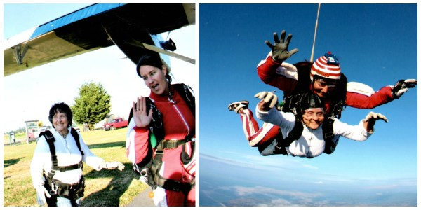 Celebration - Skydiving Collage