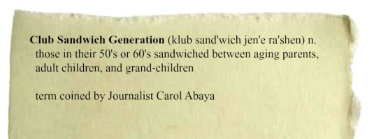 Club Sandwich Generation