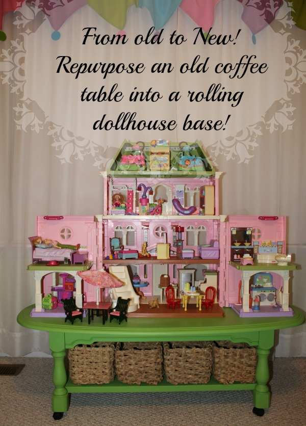 Dollhouse on base