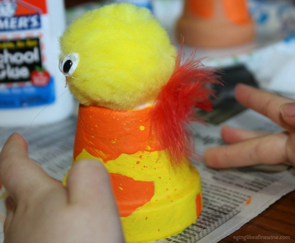 Children's chick craft