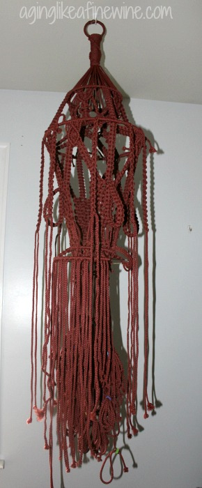 Macrame Wine Holder