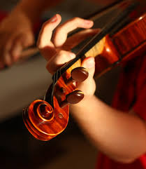Hands on violin