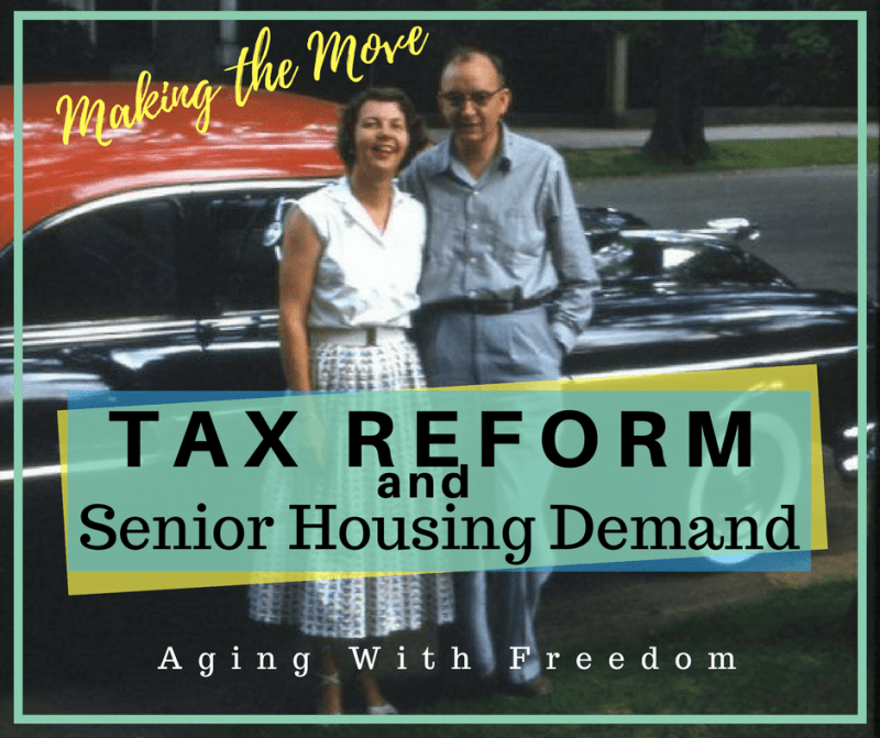 tax reform and senior housing