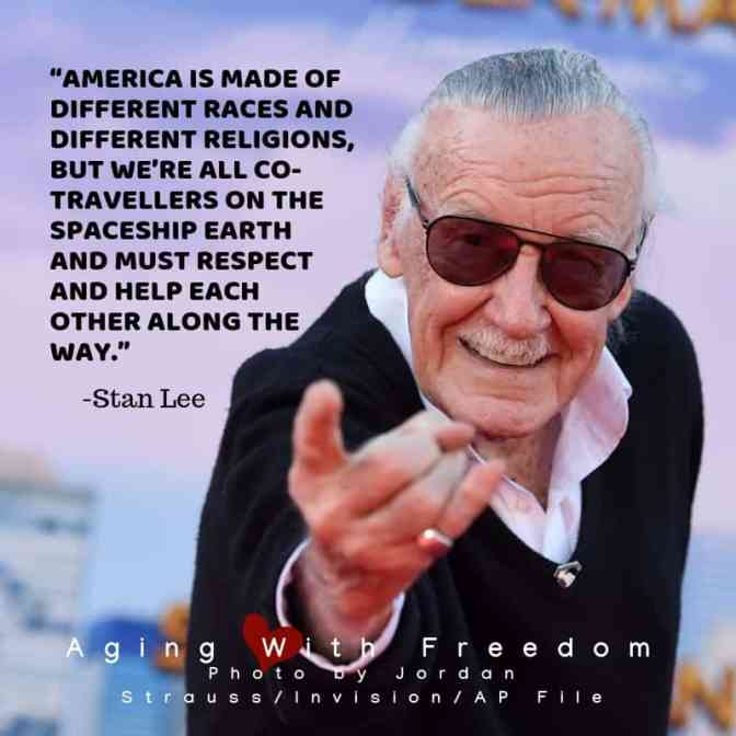 Inspiration, Fun and News #stanlee #marvelcomics