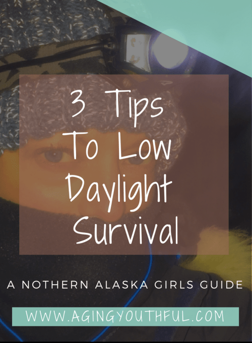 Winter Got You Down? Check out my Three Tips to low daylight survival!