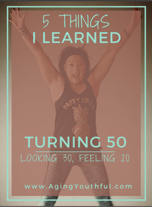 5 Things I learned turning 50
