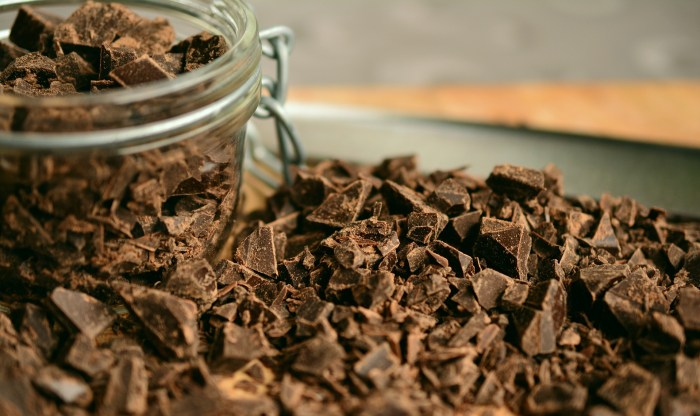 Anti-aging pudding starts with chocolate!