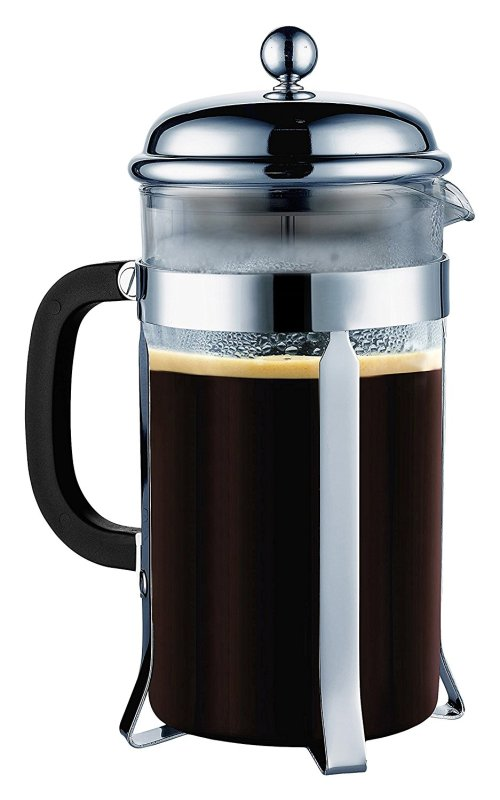 I use this french press to cold press coffee every day.