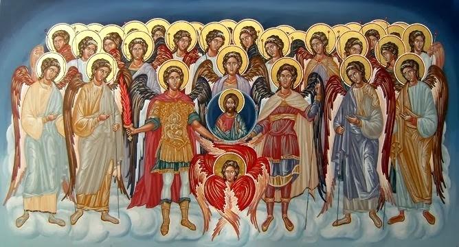 Ο Άγιος Πατροκοσμάς για τα τάγματα των Αγγέλων (Διδαχή Α΄)