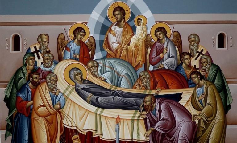 Ἅγιος Μάξιμος ὁ Ὁμολογητής: Ἡ κοίμησις τῆς Θεοτόκου