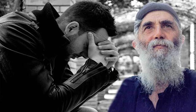 """""""Γέροντα τόσο ανάξιος είμαι, που ούτε η προσευχή σου με βοηθά!!!"""""""