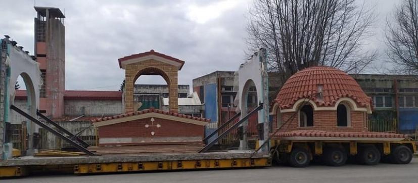 Κομμάτι- κομμάτι συναρμολογείται και σύντομα θα πάρει την τελική μορφή του ο Ιερός Ναός του Αγίου Παϊσίου στην Ήπειρο