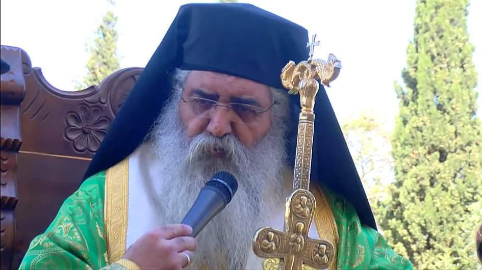 «Τὸν ἐρχόμενον πρός με οὐ μὴ ἐκβάλω ἔξω» Ιστορικό Κήρυγμα Επισκόπου Μόρφου την Κυριακή των Βαΐων 2020