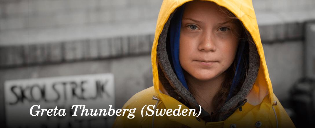Nobel alternativo premia os defensores climáticos, entre eles o brasileiro Davi Kopenawa e a sueca Greta Thunberg