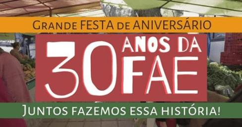 A pioneira feira orgânica convida para aniversário de 30 anos no próximo sábado
